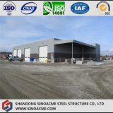 Völlig abgedecktes Stahlkonstruktion-Lager mit Kabinendach-Halle