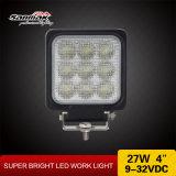 """27W CREE LED de luz de trabalho IP68 de alta saída quadrada de 4 """""""