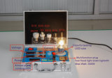 Lampen-Birnen-Prüfvorrichtung-Energien-Messinstrument-Demo-Ausstellungsstand-Installationssätze Wechselstrom-LED