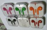 Los accesorios del teléfono móvil del deporte ataron con alambre el auricular del en-Oído
