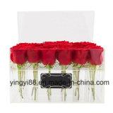 Usine de Shenzhen de cadre de /Plastic Rose de cadre de fleur d'acrylique de 100%