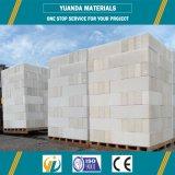 Облегченные автоклавированные газированные панели бетонной стены для дома стальной структуры