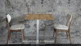 가정 사용 (LL-BC0087)를 위해 놓이는 최신 판매 단단한 나무 식탁 및 의자