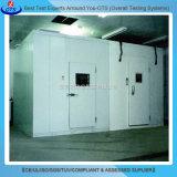 Механически охлаженная прогулка климатической камеры испытания относящая к окружающей среде модульная в комнате