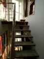 Escadaria do pedal da madeira contínua da tubulação do desgaste 4 do aço inoxidável