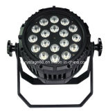 Indicatore luminoso impermeabile di PARITÀ della fase di IP65 RGBW 18*10W LED