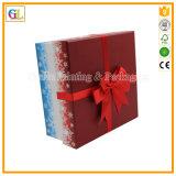 Изготовленный на заказ коробка ящика подарка черноты картона