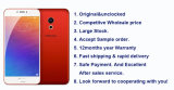 2016 Desbloqueado Maizu Original PRO 6 Deca Core 21MP Android los teléfonos móviles 4G LTE