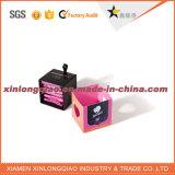 Коробка Cmyk прокатанная печатью Condom/USA упаковывая бумажная с печатание логоса