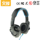 PC Wired Mobilephone Headset e MP3 Headphone para jogos PS4 com microfone