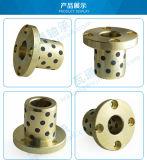 Auto-lubricación de los cojinetes de rodadura de plástico brida del buje de la rueda delantera