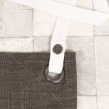 Grembiule lavato di Short della cucina del lavoro del tessuto del denim della tela di canapa (RS-170302)