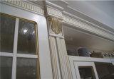 Armadio da cucina modulare con il comitato del portello di legno solido