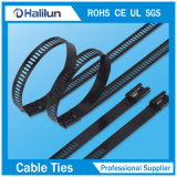 De polyester Met een laag bedekte Band van de Kabel van het Roestvrij staal van het Slot van de Weerhaak van de Ladder Multi