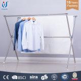 Les racks de séchage en acier inoxydable X-Type de ménage Vêtements connecteur métallique du sécheur en rack