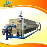 Máquina do filtro para a lama da lagoa