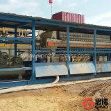 Máquina automática química de la prensa de filtro de placa de los PP de la membrana