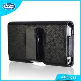卸し売り自在継手PUのiPhone 6のホルスターの袋のための革携帯電話の箱