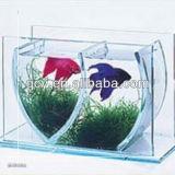 Serbatoio di pesci acrilico della radura di disegno moderno mini