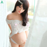 Bestseller 158cm de vrij Volwassen Vrouwelijke Echte Levensechte Vrouwen van Doll van het Geslacht Realistische Zwangere