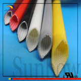 Sunbow Varglasのシリコーンのガラス繊維の絶縁体のスリーブを付けること