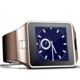 Qw09 reloj elegante del deporte de Bluetooth de la tarjeta de la Dual-Memoria SIM del androide 4.42