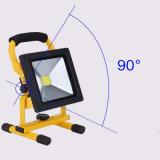 30W高い発電の緊急時の照明再充電可能な投光照明