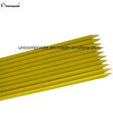 Beständiges haltbares UVfiberglas bunter fester Rod