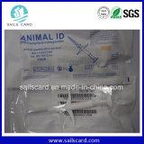 Etiqueta del microchip del precio competitivo/etiqueta inalterable del animal de RFID