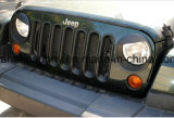 Cubierta de ajuste enojada del estilo del pájaro del estilo del ABS de la linterna de gama alta del Wrangler para el jeep