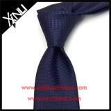 Marine maigre de relation étroite de polyester tissée par jacquard pour les hommes