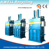 El empacado de fibra/hidráulica vertical de la máquina empacadora/Máquina de prensa de balas de lana