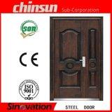 Die 2017 neue Entwurfs-doppelte Tür mit Cer-Haupttür geruht doppelte Tür (SV-S101)