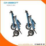 2017熱い販売のブラシレスモーターを搭載するFoldable 2つの車輪の電気スクーター