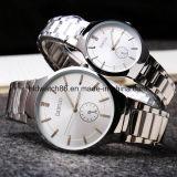 Водонепроницаемый Quartz металлические наручные часы для мужчин и