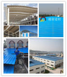 Datilografar a PVC/ASA a telha de telhado da resina sintética
