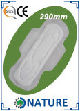 serviette hygiénique de 290mm avec la couverture sèche