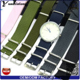 Yxl-031 선전용 Perlon 결박 악대 신식 좋은 품질 시계 결박 손목 시계 Perlon 결박은 시계 소맷동을 도매로 주문 설계한다