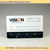 Vorgedruckte Kunststoff Magnetstreifen-Karte für Optiker Loyalty Card
