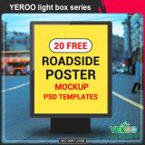 Im Freienbekanntmachen LED heller Pole Lightbox