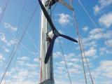 sistema de energia de gerador de turbina do vento de 300W 12/24/48 V