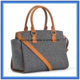 Form-Dame-Wollen glaubten beiläufigem Kurier-Schulter-Beutel, heißer Förderung-Einkaufentote-Handtasche mit justierbarem Riemen und bequemem Griff