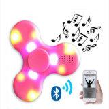 Bluetooth 스피커를 가진 새로운 Hotest 플라스틱 싱숭생숭함 장난감 LED 가벼운 핑거 손 선물 방적공