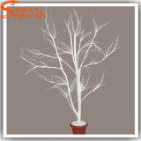 가정 훈장 섬유유리로 만드는 인공적인 백색 분지 나무