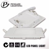 Panneau blanc d'éclairage 6W DEL de la lampe d'intérieur DEL de la qualité