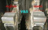 700bhn a feuilleté les extrémités blanches de marteau de Shrdder de broyeur de fer pour Sugercane
