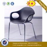Silla de reunión plástica / silla del brazo del visitante del acoplamiento con la rueda (HX-V011)