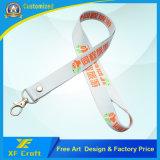 工場価格の金属のホックが付いているカスタマイズされた絹の印刷の締縄