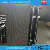 Scheda di schermo di alluminio di fusione sotto pressione di pubblicità 5.95mm esterna del Governo LED dell'affitto