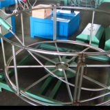 Máquina de trança de arame de aço inoxidável da mangueira de borracha